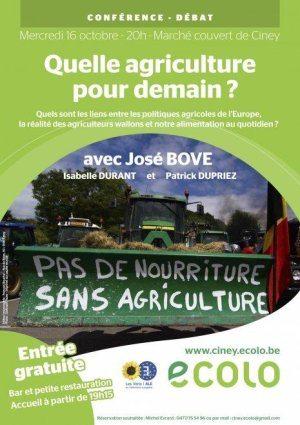 """""""Quel agriculture pour demain?"""""""