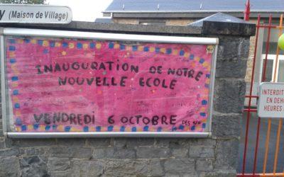 Inauguration de l'école de Méan rénovée
